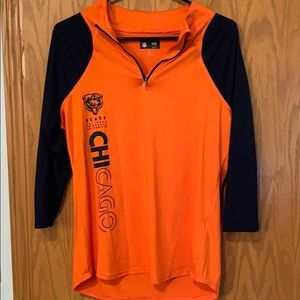 NFL Chicago Bears 3/4 Sleeve pullover